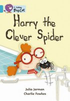 Harry the Clever Spider anglická kniha