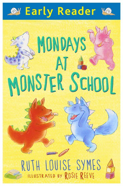 Mondays at Monster School, anglická kniha