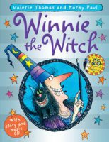 Winnie the Witch, 25th anniversary edition, anglická kniha s CD