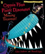 Captain Flinn and the Pirate Dinosaurs: Missing Treasure!, anglická kniha
