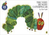 The Very Hungry Caterpillar, anglická kniha-leporelo