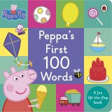 Peppa's First 100 Words, anglická kniha