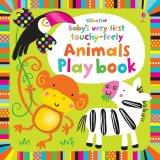 Baby's very first touchy-feely animals play book, anglická kniha