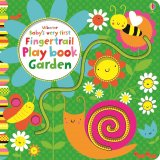 Baby's very first fingertrail play book garden, anglická kniha