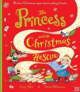 The Princess and the Christmas Rescue, anglická kniha