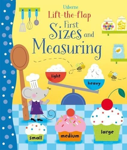Lift-the-Flap Sizes and Measuring, anglická kniha - leporelo