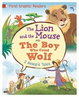 Aesop: The Lion and the Mouse & the Boy Who Cried Wolf, anglická kniha