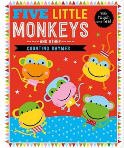 Five Little Monkeys and Other Counting Rhymes, anglická kniha - leporelo