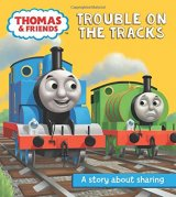 Trouble on the Tracks, A story about sharing, anglická kniha