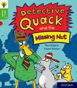 Detective Quack and the Missing Nut, anglická kniha