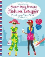 Fashion Designer London and New York Collection, nálepkový zošit