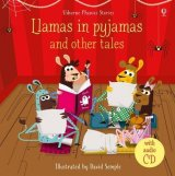 Llamas in Pajamas and Other Tales, anglická kniha s CD