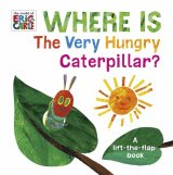 Where is the Very Hungry Caterpillar?, anglická kniha - leporelo