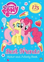 Best Friends Sticker and Activity Book, nálepkový zošit s aktivitami