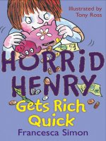 Horrid Henry Gets Rich Quick, anglická kniha