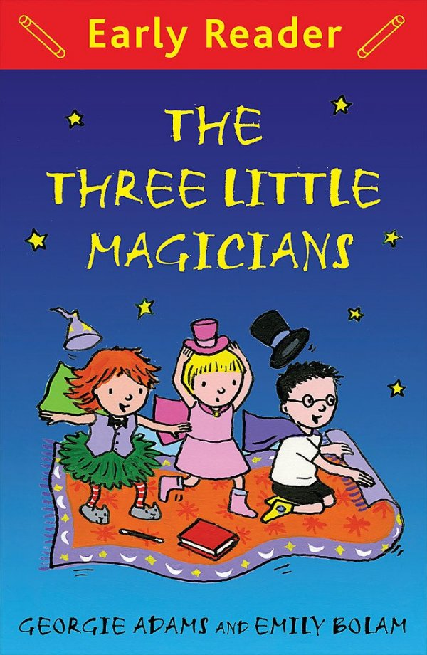 The Three Little Magicians, anglická kniha