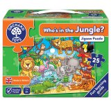 Who's in the Jungle, puzzle