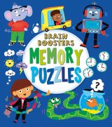 Brain Boosters: Memory Puzzles, anglická kniha