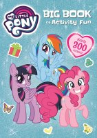 My Little Pony Big Book of Activity Fun, zošit s aktivitami a nálepkami