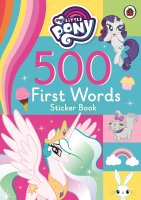 500 First Words Sticker Book, nálepkový zošit