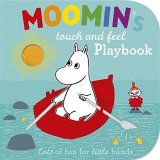 Moomin's Touch and Feel Playbook, anglická kniha - leporelo