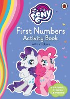 My Little Pony First Numbers Activity Book, pracovný zošit