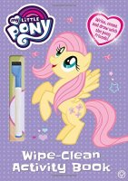 My Little Pony Wipe Clean Activity Book, anglická kniha