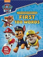 PAW Patrol: First 100 Words Sticker Book, nálepkový zošit