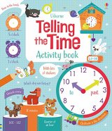 Telling the Time Activity Book, anglická kniha