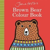 Brown Bear Colour Book, anglická kniha - leporelo