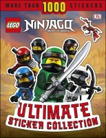 LEGO NINJAGO Ultimate Sticker Collection, nálepkový zošit