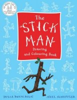 The Stick Man Drawing and Colouring Book, omaľovánka