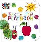 The Very Hungry Caterpillar: Touch and Feel Playbook, anglická kniha - leporelo