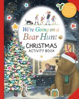 We're Going on a Bear Hunt: Christmas Activity Book, zošit s aktivitami