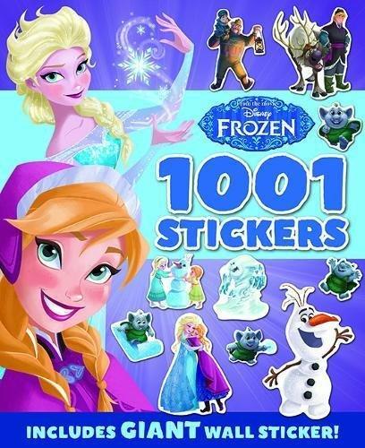 04e7cd5c3 FROZEN: 1001 Stickers, nálepkový zošit