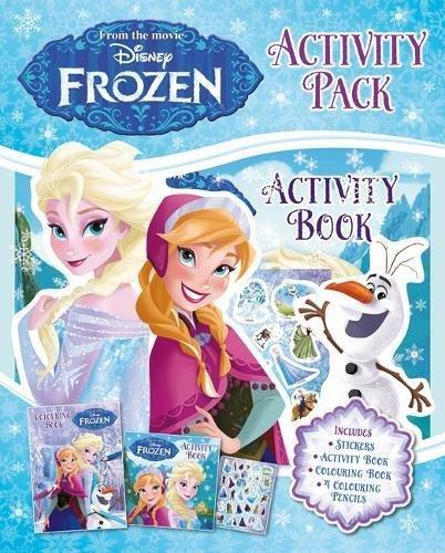 b6a04f449 Frozen: Activity Pack, zošit s aktivitami