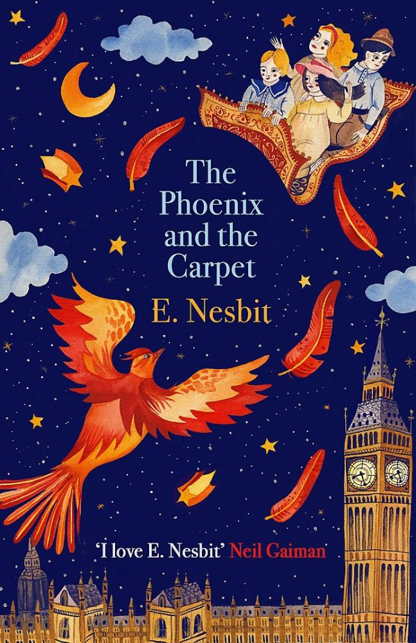 The Phoenix and the Carpet, anglická kniha