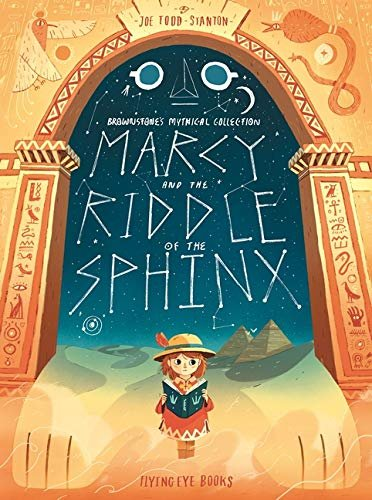 Marcy and the Riddle of the Sphinx, anglická kniha