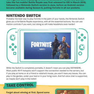 Fortnite: Pro Guide 100% Unofficial, anglická kniha