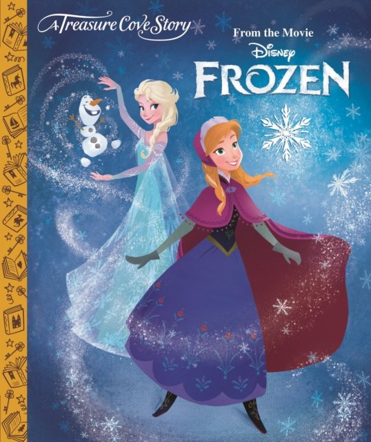 b525db2d5 kniha Frozen, anglická kniha