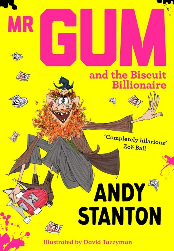 Mr. Gum and the Biscuit Billionaire, anglická kniha