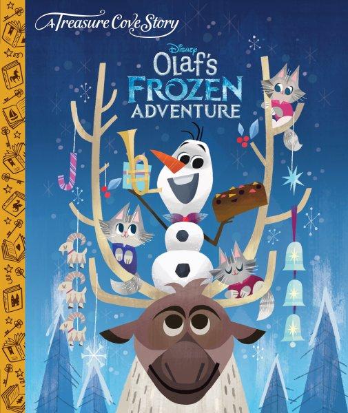 2f6ffcbd6 kniha Olaf Frozen Adventure, anglická kniha