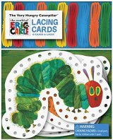 The Very Hungry Caterpillar Lacing Cards, activity box