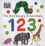 The Very Hungry Caterpillar's 123, anglická kniha - leporelo