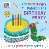 The Very Hungry Caterpillar's Birthday Party, anglická kniha - leporelo