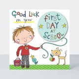 Good Luck First Day of School – Boy, prianie