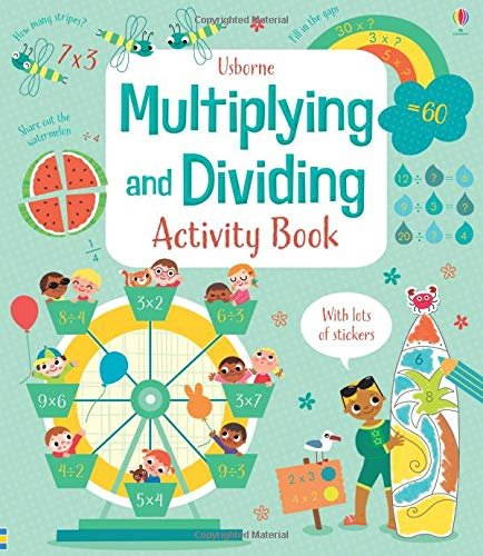 Multiplying and Dividing Activity Book, anglická kniha
