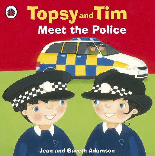 Topsy and Tim: Meet the Police, anglická kniha