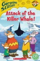 Attack of the Killer Whale, anglická kniha s CD
