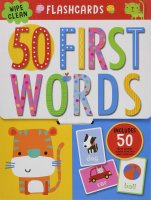 First 50 Words Flashcards, karty